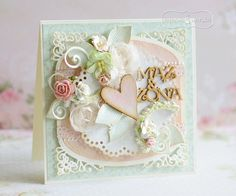 Heart Cards, Crafty Projects, Love Cards, Cardmaking, Scrapbooking, Paper Crafts, Frame, Wedding, Inspiration