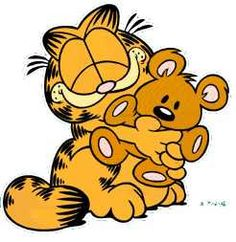 I love Garfield, he cracks me up with his antics! I have Garfield comic books, lapel pins, watches, and stuffed toys. Gato Garfield, Garfield Cartoon, Garfield Comics, Garfield Pictures, Garfield Quotes, Cartoon Logo, Cute Cartoon, Cartoon Crazy, Cartoon Picture