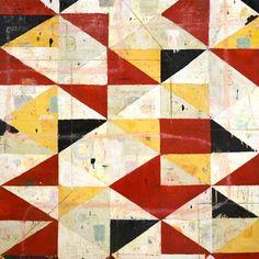 Perimeter by Nicholas Wilton #nicholas #wilton #art #painting #mixed media #julie #nester #gallery #artist #geometric #abstract