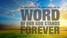 My favorite verse- Isaiah 40:8 <3