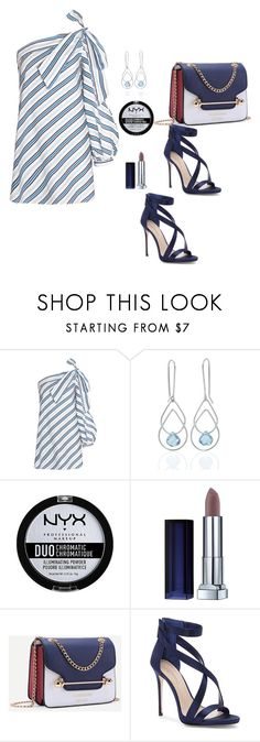 """Listras fashion"" by carolortiz ❤ liked on Polyvore featuring Janice Zethraeus, NYX and Imagine by Vince Camuto"