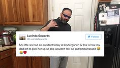 Everyone Loves The Way This Dad Handled His 6-Year-Old's 'Accident'. Go Daddy!!!