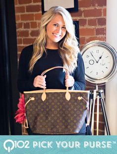 Louis Vuitton - Neverfull MM Monogram. Go to wkrq.com to find out how to play Q102's Pick Your Purse!