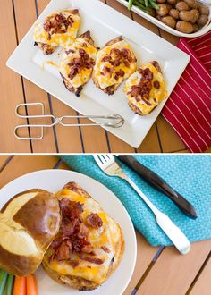 This easy-cheesy grilled Monterey Chicken recipe is THE BEST. BBQ sauce, cheese, and bacon make it a must-try summer cookout staple. *My kids and husband love this sandwich! Homemade Mozzarella Sticks, Monterey Chicken, Honey Glazed Ham, Pumpkin French Toast, Chicken Taco Recipes, Recipe Chicken, Mushroom Burger, Pizza, Dark Chocolate Cakes