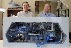 Men Create LEGO Batcave Replica