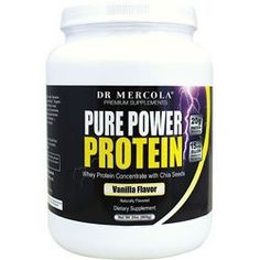 Mercola Vanilla Pure Power Protein by Mercola. Save 27 Off!. $42.97. Maintain your ideal good to other bacteria ratio. Rich in pre-biotic food to support healthy gut bacteria. Boosts your energys and supports your metabolism. Promotes your muscle strength, endurance, and recovery. Helps your insulin work. cessary to give the 9 Essentials an added boost Put even more emphasis on good taste Natural sweeteners like digestive resistant maltodextrin and Luo Han fit the bill Look for more...