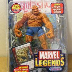 $35 shipped #FantasticFour #actionfigures #toys #marvel #DC #comicbooks #comics #toybiz #mattel #Bandai #powerrangers #transformers #robots #heroes #forsale #4sale #toys4sale #toysforsale #toycollection #spiderman #McFarlaneToys #MarvelLegends #ComicCon #SDCC by retroactiontoys