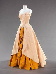 Silk ball gown by Charles James 1948