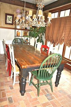 FARM HOUSE TABLES #LOVE
