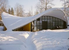 A photo of the home of Finnish designer Yrjö Kukkapuro, who we featured in Apartamento Magazine issue Interview by Rhino Architecture, Beautiful Architecture, Modern Architecture, Scandinavian Home, Big Houses, Studio, Timeless Design, Interior And Exterior, Designer