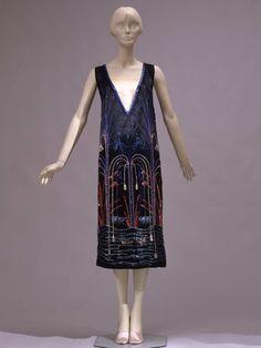 Abito corto da sera | Identifier 00000262 | Temporal keyword 1925 ca. | Creator Sartoria Ventura, Roma (?) | Galleria del Costume di Palazzo Pitti