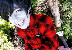 I havnt posted a marshall lee in god knows how long im planning on doing a muffet cosplay from undertale as soon as i saw her i was like YES SHE IS MY UNDERTALE SPIRIT ANIMAL!!! Her or sans but idk im leaning twoard her im excited to cosplay her #cosplay #anime #animecosplay #manga #mangacosplay #male #malecosplay #malemakeup #bishie #bishonen #adventuretimecosplay #goth #emo #adventuretime #marshall #lee #marshalllee #genderbender #marshallleecosplay