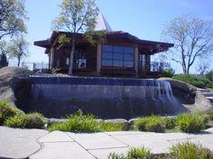 A better shot of Alabaster House, the prayer house at Bethel Church Redding California, open 24/7