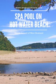 Hot Water Beach is on Mercury Bay on the east coast of the Coromandel Peninsula, New Zealand. Often rated as one of the world's most renowned beaches, it is a family-friendly destination. A visit to the Hot Water Beach is a truly unique Kiwi experience. #newzealand #oceania #destination #adventure #adventuretime #traveltips #travellife #daytrips #新西兰 #traveltips #travelblogger #weekendtrip #roadtrip #thingstodo #familywithkids #familytravel #northisland #auckland #hotwaterbeach #coromandel Australia Destinations, New Zealand Destinations, New Zealand Itinerary, New Zealand Travel Guide, Australia Travel, Travel Destinations, New Travel, Travel Goals, Time Travel