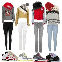 Polyvore Outfits With Jordans And Shorts Nah. jk. but i like the shoes