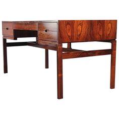 Arne Wahl Iversen Rosewood Desk