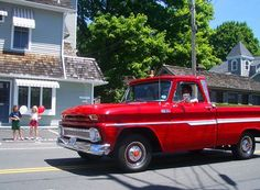 Red Pickup