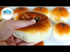 Knead in the Morning Cook - Cotton Soft Donut Recipe Like the Most Soft Sponge # - açma Soft Donut Recipe, Donut Recipes, Cooking Recipes, Dinner Rolls Easy, Ramadan Desserts, Flatbread Recipes, Yummy Food, Delicious Desserts, Turkish Recipes