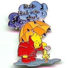 The promotional series has ended, and is no longer being sold in any of the Disney properties. The pins features Winnie the Pooh holding an umbrella and the ...
