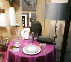 Videz vos placards ... et repartez avec du neuf : porcelaine, verres, couverts, lampe, vase, tableau, au magasin Table et Décor. #décoration #boutique #bourgogne