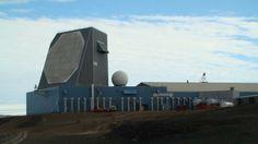 Ballistic Missile Early Warning (BMEWS) Radar at Thule Greenland