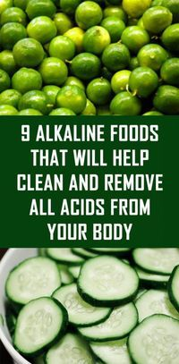 9 Alkaline Foods That Will Help Clean an. 9 Alkaline Foods That Will Help Clean and Remove All Acids from Your Body Natural Cures, Natural Health, Natural Life, Natural Diuretic, Health And Wellness, Health Fitness, Health Care, Gut Health, Health Matters