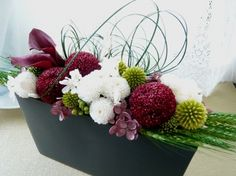 Pin by aki m on 和 フラワー Basket Flower Arrangements, Tropical Flower Arrangements, Beautiful Flower Arrangements, Tropical Flowers, Beautiful Flowers, Deco Floral, Floral Design, Dwarf Fruit Trees, How To Preserve Flowers