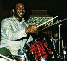 Bernard Purdie!! Drummer on Gil Scott-Heron's classic song 'The Revolution Will Not Be Televised'.