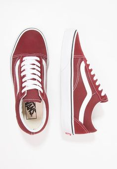 premium selection 6648f 1c6b6 UA OLD SKOOL - Sneakers - madder brown true white   Zalando.dk 🛒