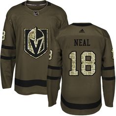 Men s Vegas Golden Knights Tomas Hyka Green Stitched Adidas NHL Jersey  Salute to Service 66db5122f