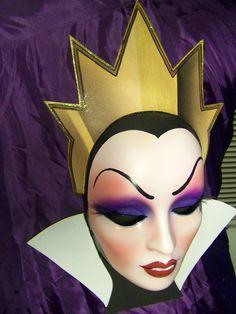 Gorgeous Evil Queen Mask Snow White Villains by PiratesQuarters