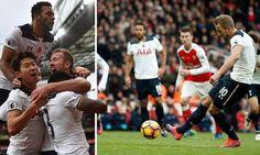 Arsenal and Tottenham Hotspur draw 1-1