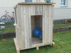 Spielhaus für Kinder oder Recyceln von Paletten Bauanleitung zum selber bauen Selber machen
