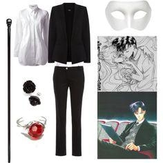Tuxedo Mask - manga inspired fashion - Polyvore