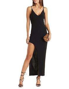 Strappy Asymmetrical Maxi Dress $29.99