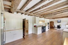 We love a kitchen with beams  Alkham (2).jpg