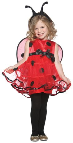 Cute Lady Bug Outfit
