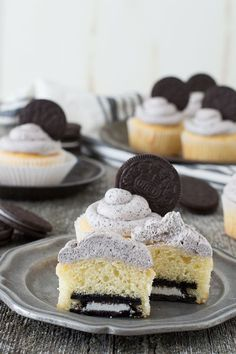 Easy Oreo Cupcakes – the best Oreo cupcake recipe with Oreo buttercream! The only thing better than a stack of oreo cookies is an oreo cupcake. If you are the type of person who likes food ...