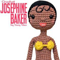 Crochet Josephine Baker by Suzy Dias http://www.7robots.com/shop/collections/crochet-josephine-baker-suzy-dias/