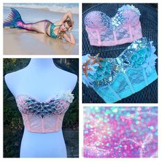 """""""Want something a little different than the standard rave bra? I have bustiers, corsets and more to help all your rave day dreams come true! Email me today…"""""""