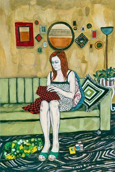 Raffi Kalenderian  Gwendolyn  2008 Oil on canvas 183 x 122 cm