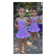 #ShareIG My little beach babes ☀️ #DrotiniTwins #TheBigTWO #HappyBirthdayBabies