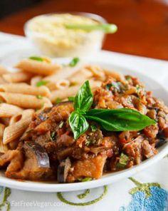 http://blog.fatfreevegan.com/2011/08/skillet-eggplant-and-lentils-with-almond-parmesan.html