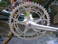 Vintage Campagnolo Nuovo Record Cranksets just go on forever! I have some of these cranks in my collection that are nearly 50 years old and still strong as the day they were manufactured. Proof positive why Campy is the greatest bike component company in the world. - Google Search Jackson, Bike Components, 50 Years Old, My Collection, Just Go, Bicycles, Cycling, Bob, Strong