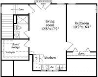 in law apartment plans in suite on one room apartment 18780