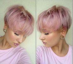 Pink Lovers aufgepasst! Diese 10 Kurzhaarfrisuren in den tollsten Pinknuancen solltest Du nicht verpassen! - Aktuelle Frisuren