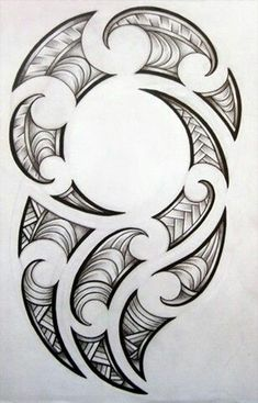 [fineliner + pencil - August Maori-inspired design for my brother's tattoo. Maori design for my brother Maori Tattoos, Maori Tattoo Frau, Ta Moko Tattoo, Hawaiianisches Tattoo, Filipino Tattoos, Tattoo Motive, Samoan Tattoo, Tattoo Drawings, Body Art Tattoos