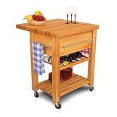 Found it at Wayfair - Baby Grand Workcenter Kitchen Cart