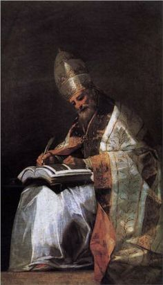 St. Gregory the Great - Francisco Goya