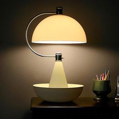 """Bauhaus Lamp. """"A good modern machine is an object of highest aesthetic value - we are aware of that"""""""
